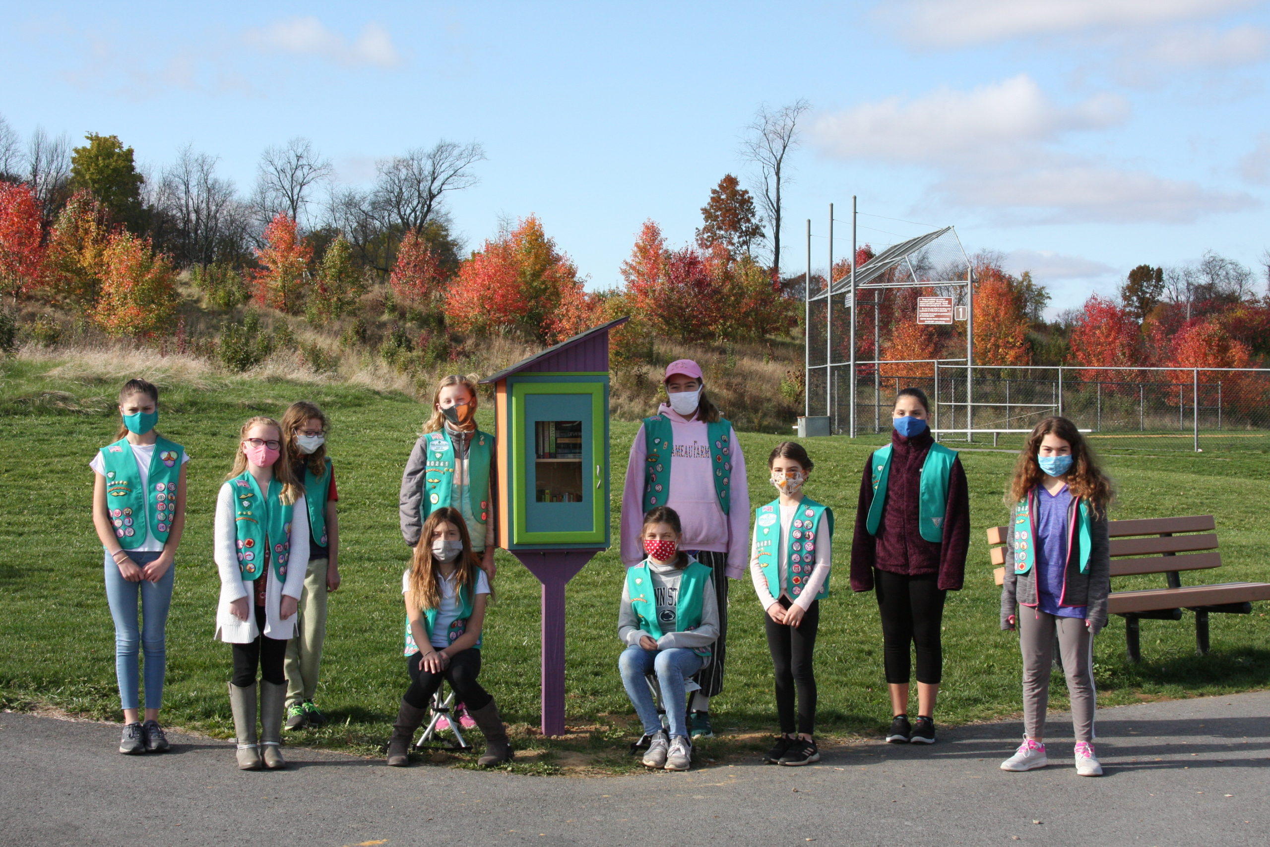 State College Girl Scouts